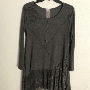 Tops - Grey tunic